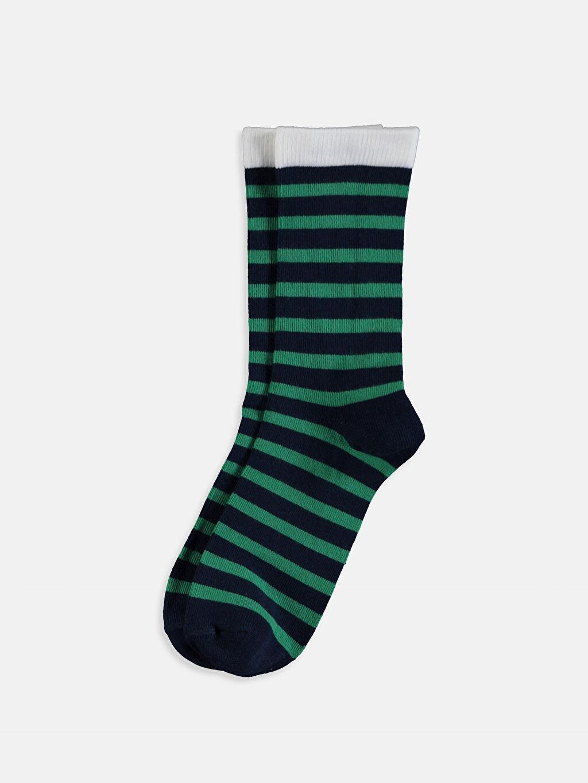 %55 Pamuk %19 Polyester %24 Poliamid %2 Elastan  Erkek Çocuk Soket Çorap 3'lü