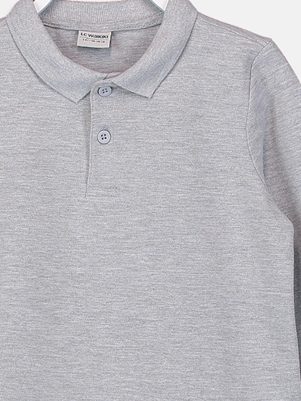Erkek Çocuk Erkek Çocuk Uzun Kollu Basic Tişört