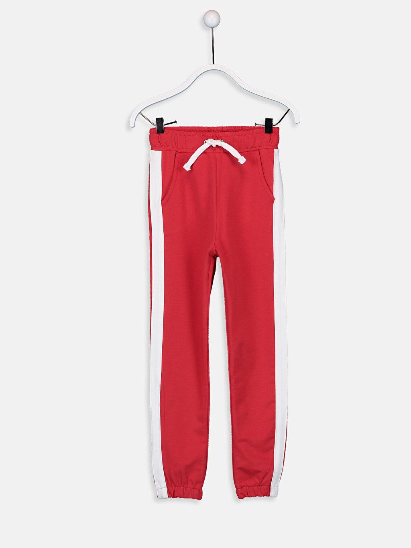 Kırmızı Kız Çocuk Jogger Eşofman Altı 9W2814Z4 LC Waikiki