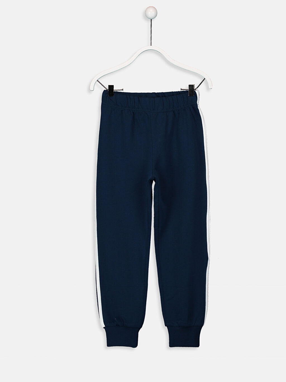 %100 Pamuk Erkek Çocuk Baskılı Uzun Kollu Pijama Takımı