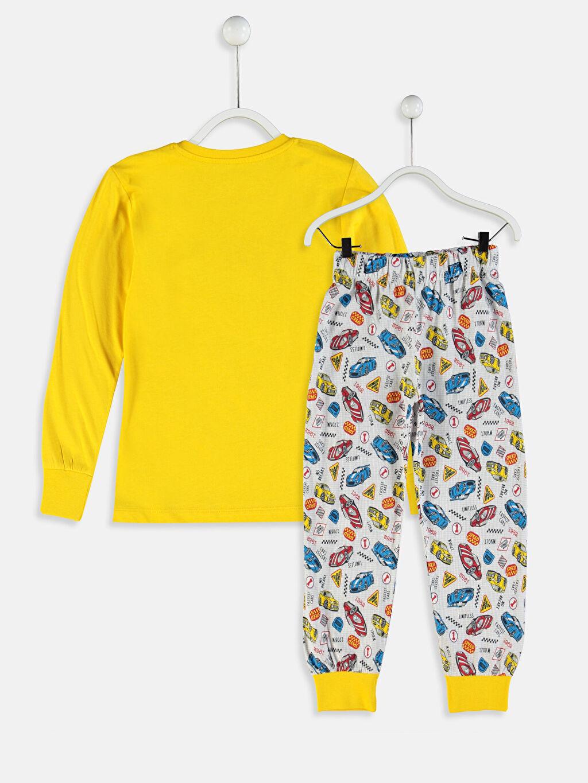 %100 Pamuk Standart Pijamalar Erkek Çocuk Pijama Takımı ve Kalemlik