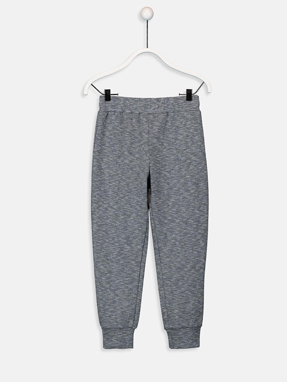 %15 Pamuk %74 Poliester %10 Viskoz %1 Elastan Standart Pijamalar Erkek Çocuk Pijama Alt