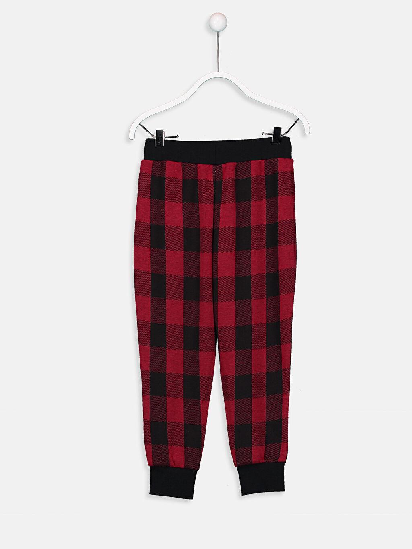 %71 Polyester %29 Viskoz Pijamalar Standart Erkek Çocuk Pijama Alt