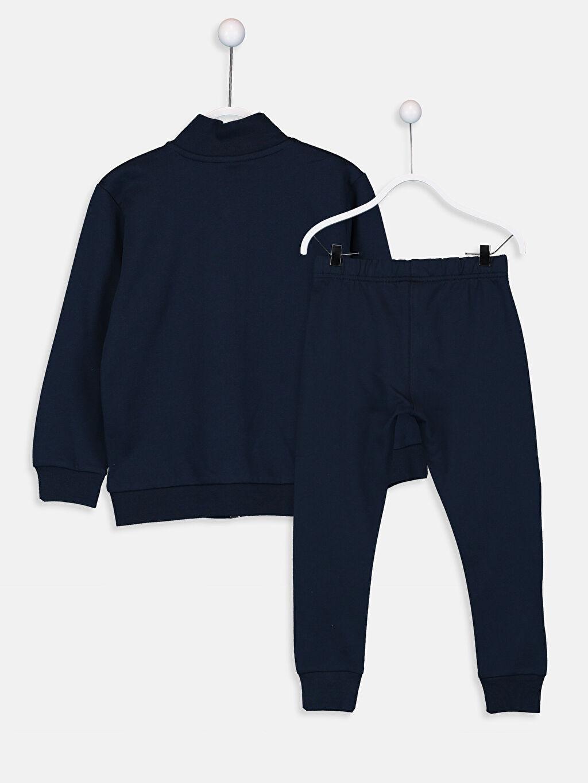%82 Pamuk %18 Polyester %82 Pamuk %18 Polyester  Erkek Çocuk Eşofman Takım