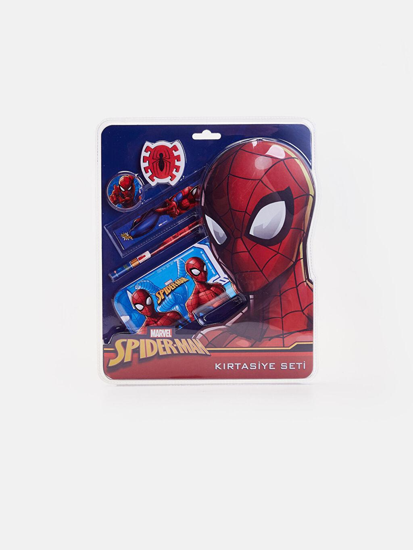 Çok Renkli Erkek Çocuk Spiderman Kırtasiye Seti 9W4851Z4 LC Waikiki