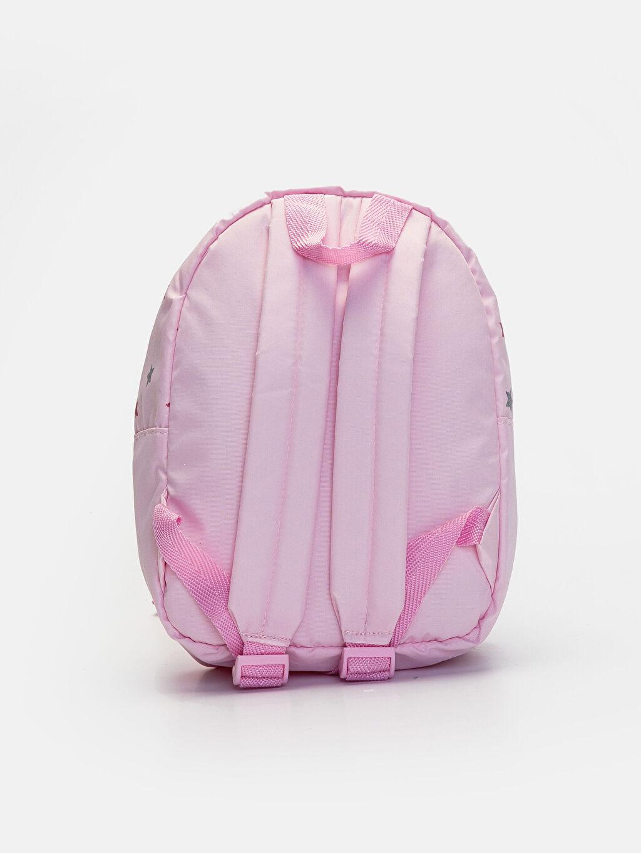 %100 Polyester %100 Polyester  Kız Çocuk Unicorn Baskılı Sırt Çantası