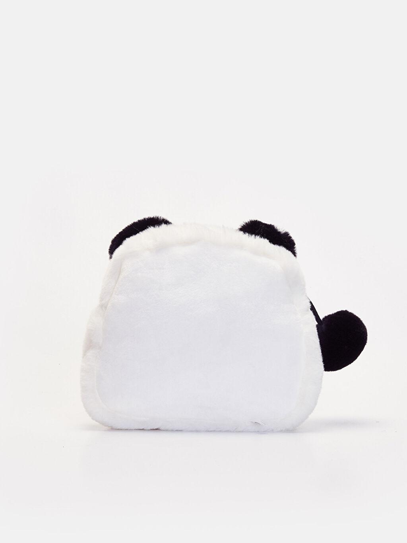 %100 Polyester  Kız Çocuk Panda Kol Çantası