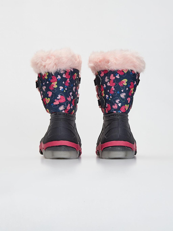 Kız Çocuk Kürk Astarlı Kar Botu