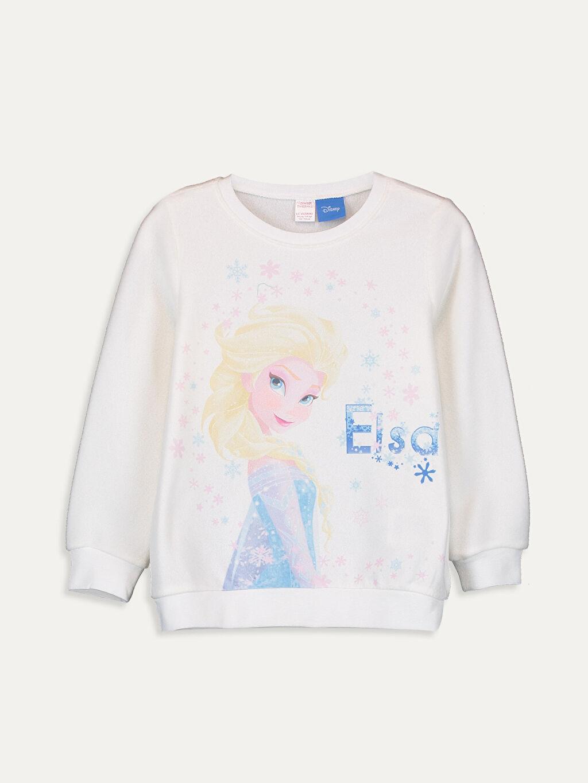 Kız Çocuk Kız Çocuk Elsa Baskılı Polar Pijama Takımı