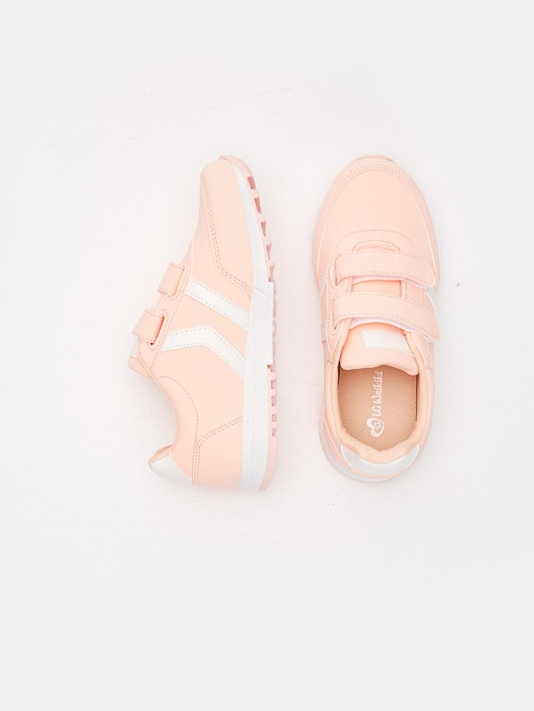 %0 Diğer malzeme (poliüretan)  Kız Çocuk Günlük Spor Ayakkabı