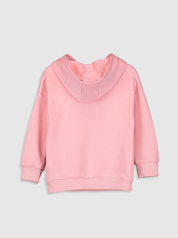 %87 Pamuk %13 Polyester  Kız Çocuk Elsa Baskılı Sweatshirt