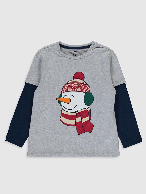 Erkek Çocuk Erkek Çocuk Baskılı Pijama Takımı