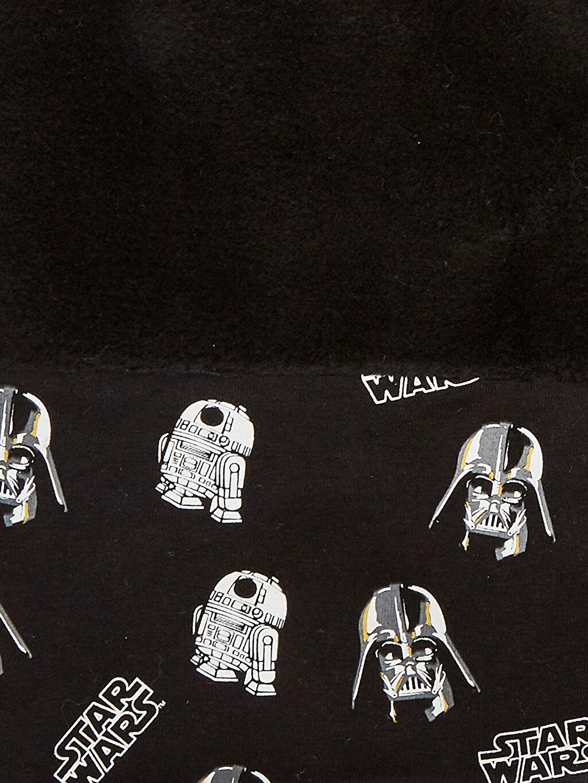 %96 Pamuk %4 Elastan %100 Polyester  Erkek Çocuk Star Wars Baskılı Triko Kaşkol