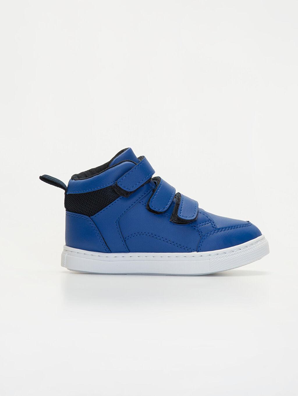 Mavi Erkek Çocuk Bilekli Günlük Spor Ayakkabı 9WO226Z4 LC Waikiki