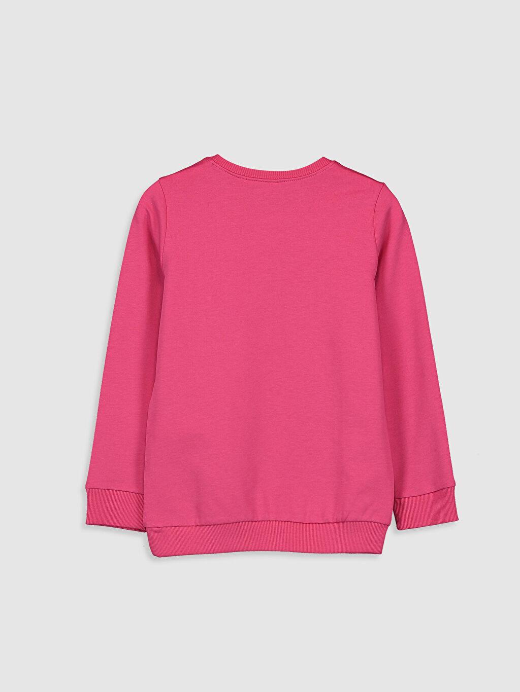 %83 Pamuk %17 Polyester  Kız Çocuk Prenses Yasemin Baskılı Sweatshirt