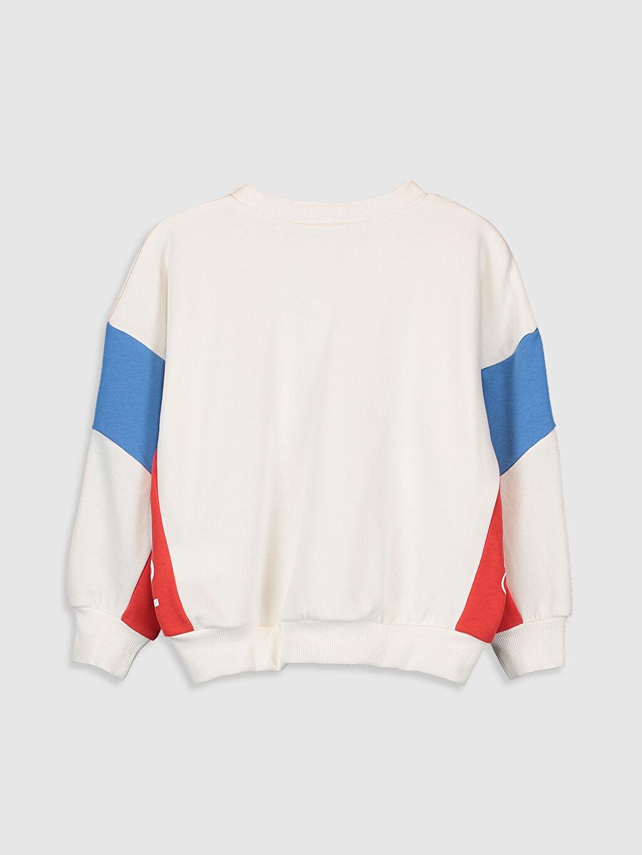 %68 Pamuk %32 Polyester  Kız Çocuk Sweatshirt