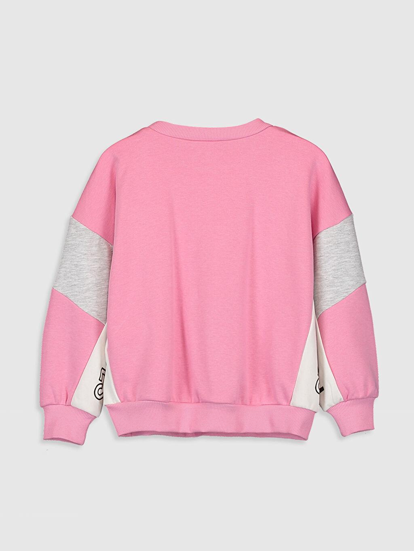 %66 Pamuk %34 Polyester  Kız Çocuk Sweatshirt