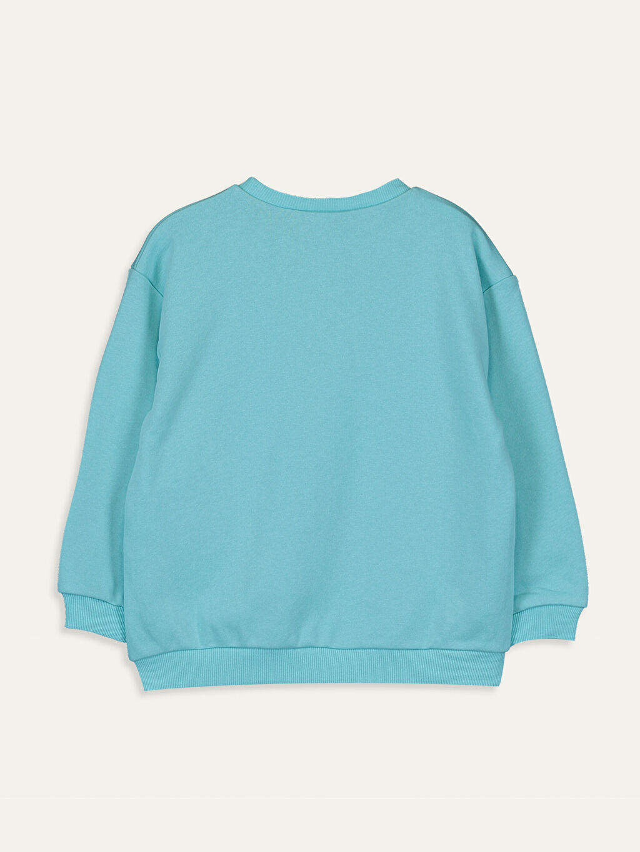 %65 Pamuk %35 Polyester  Kız Çocuk Sweatshirt