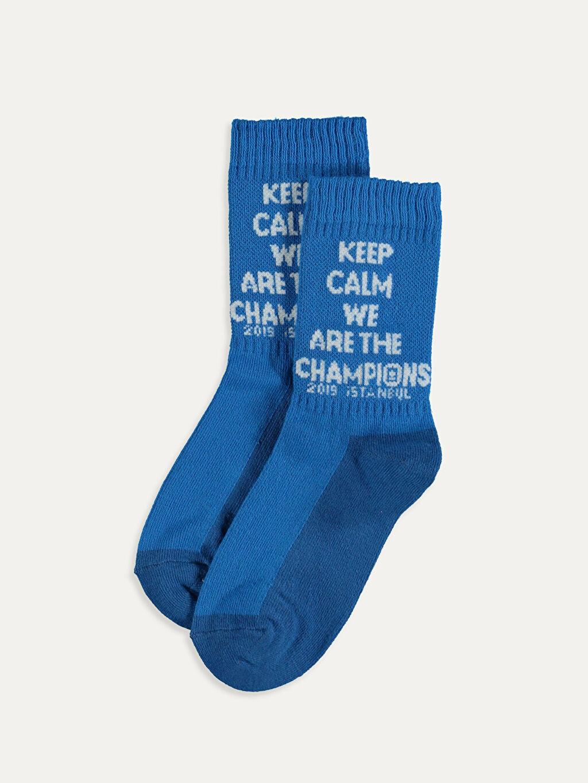 Mavi Erkek Çocuk Soket Çorap 9WP734Z4 LC Waikiki