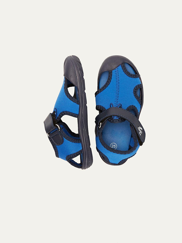 Tekstil malzemeleri Diğer malzeme (pvc) Tekstil malzemeleri Diğer malzeme (pvc)  Erkek Çocuk Cırt Cırtlı Sandalet