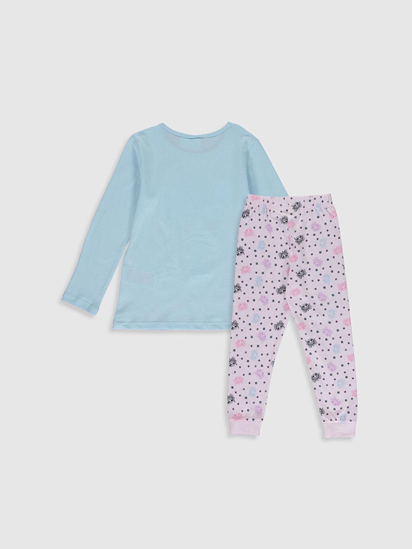 %100 Pamuk Standart Pijamalar Kız Çocuk Lol Bebek Baskılı Pamuklu Pijama Takımı