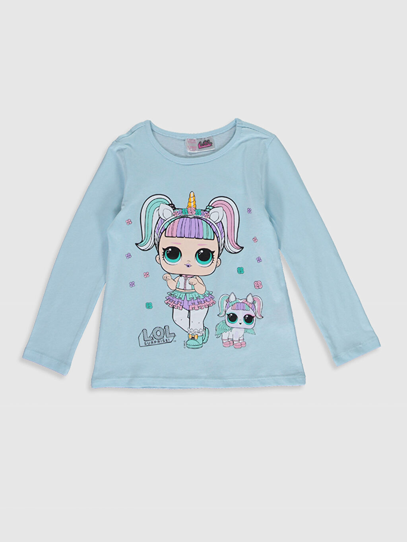 Kız Çocuk Kız Çocuk Lol Bebek Baskılı Pamuklu Pijama Takımı