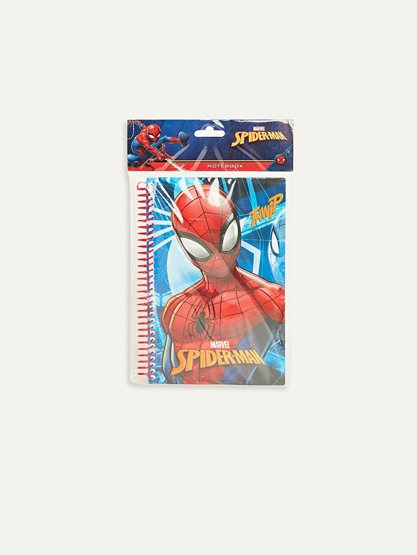 Çok Renkli Spiderman Kabartmalı Defter 9WR552Z4 LC Waikiki