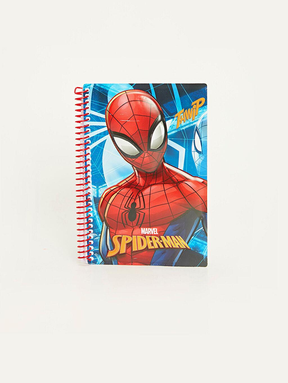 Spiderman Kabartmalı Defter