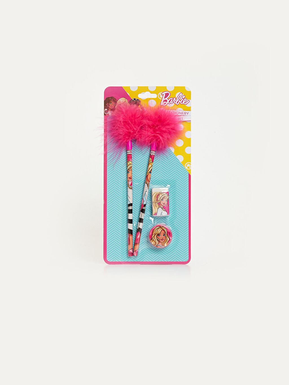 Çok Renkli Barbie Kırtasiye Seti 9WR556Z4 LC Waikiki