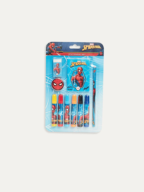 Çok Renkli Spiderman Kırtasiye Seti 9WR564Z4 LC Waikiki