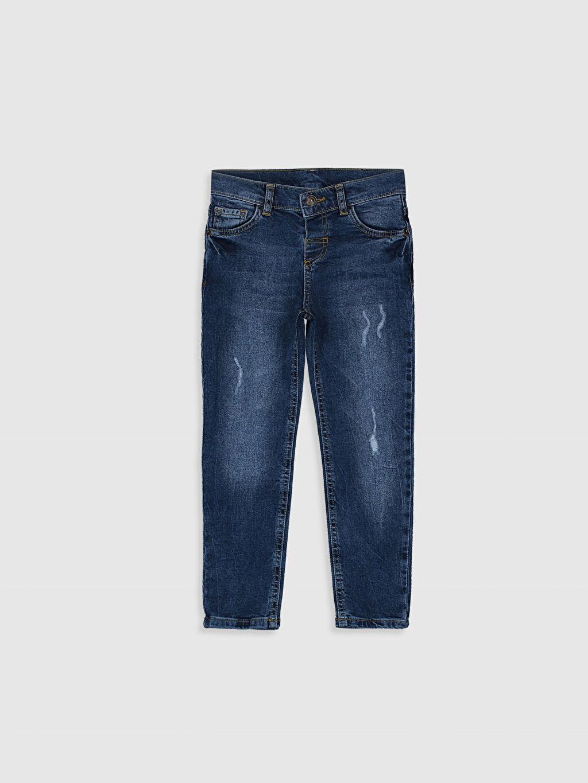 İndigo Erkek Çocuk Slim Jean Pantolon 9WT755Z4 LC Waikiki