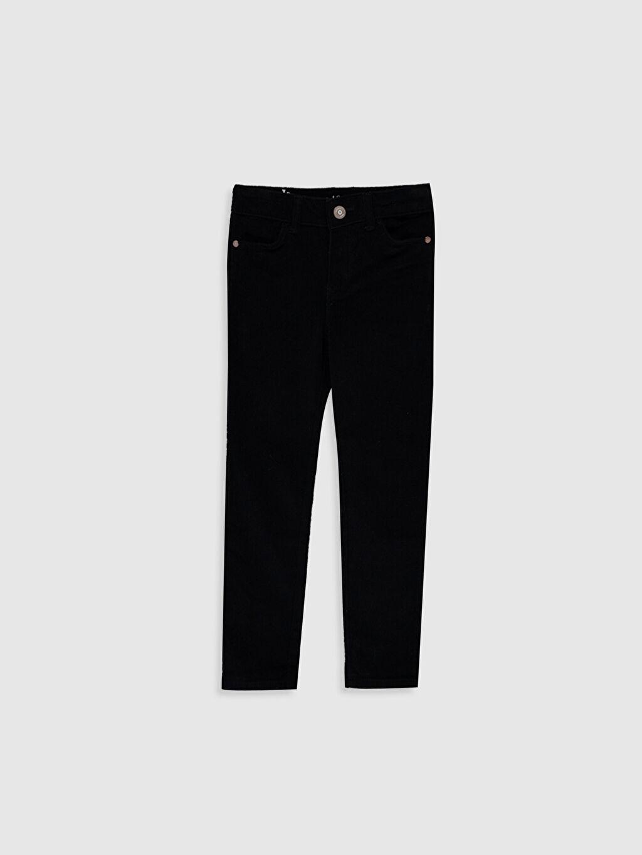 Siyah Kız Çocuk Skinny Pantolon 9WV202Z4 LC Waikiki