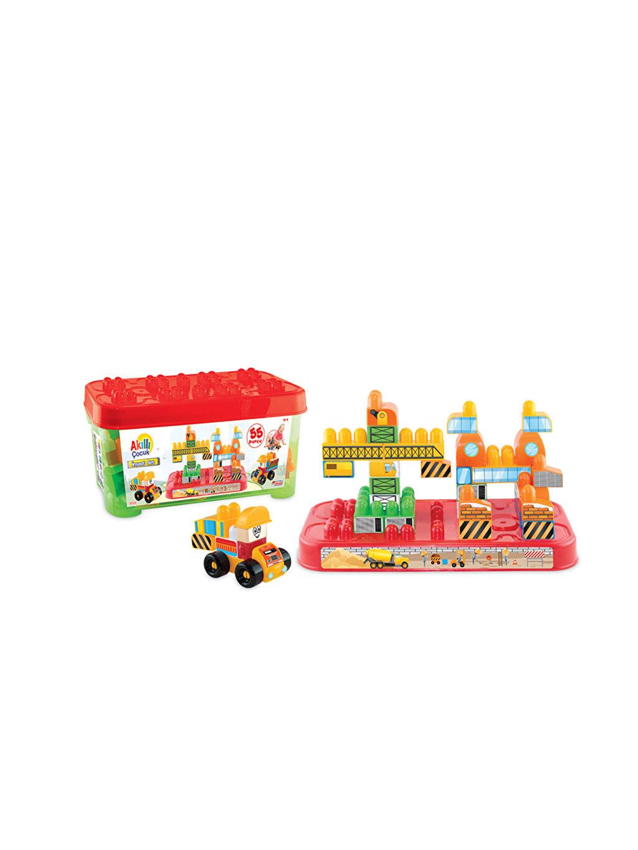 Çok Renkli Dede Akıllı Çocuk İnşaat Set Box 9WA095Z4 LC Waikiki