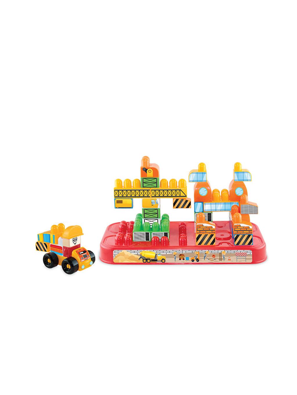 Erkek Çocuk Dede Akıllı Çocuk İnşaat Set Box