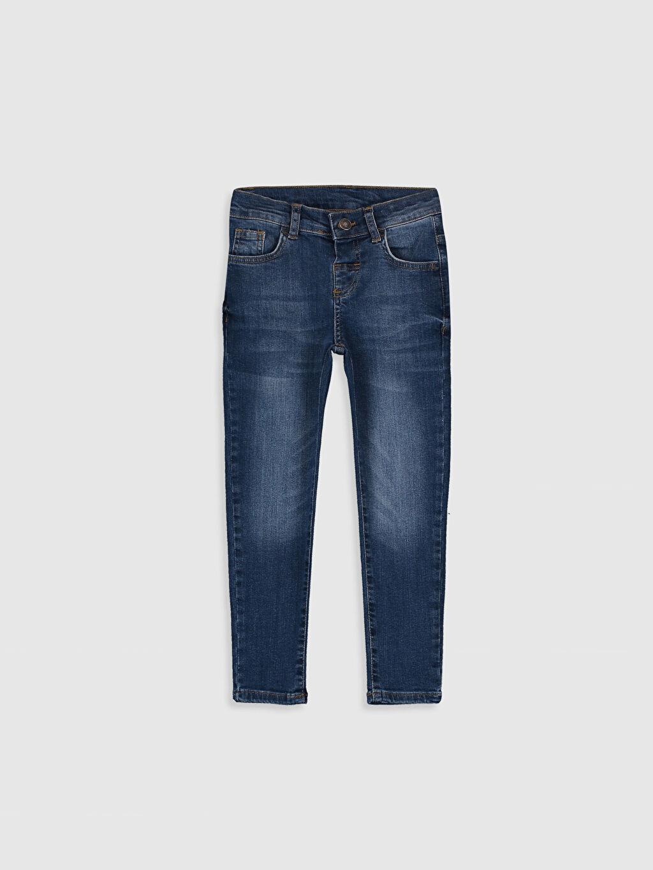 İndigo Erkek Çocuk Super Skinny Jean Pantolon 9WA867Z4 LC Waikiki