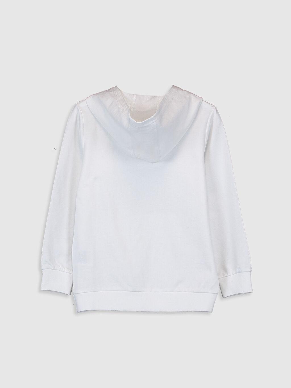 %68 Pamuk %32 Polyester  Erkek Çocuk Kapüşonlu Sweatshirt