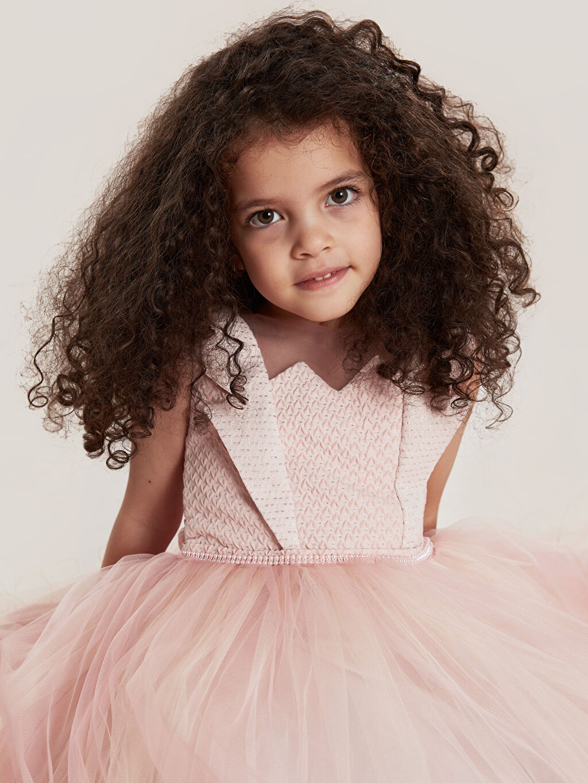 Kız Çocuk Daisy Girl Kız Çocuk Boncuk İşlemeli Abiye Elbise