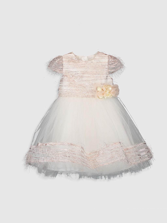 Sarı Daisy Girl Kız Bebek Abiye Elbise 9WB760Z1 LC Waikiki