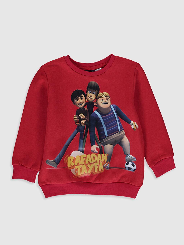 Kırmızı Erkek Çocuk Rafadan Tayfa Baskılı Sweatshirt 9WB865Z4 LC Waikiki