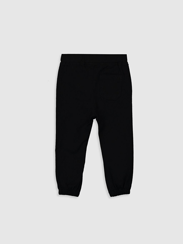 %97 Pamuk %3 Elastan  Erkek Bebek Jogger Pantolon