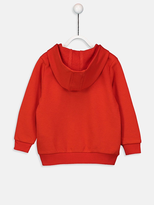 %70 Pamuk %30 Polyester Üst Grup Erkek Bebek Fermuarlı Sweatshirt