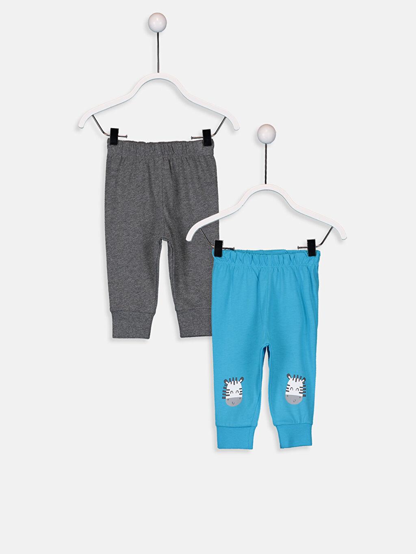 Turkuaz Erkek Bebek Pijama Alt 2'li  9W1287Z1 LC Waikiki
