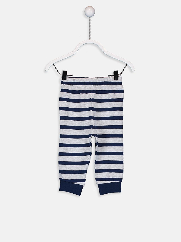 LC Waikiki Beyaz Erkek Bebek Pijama Takımı 3'lü