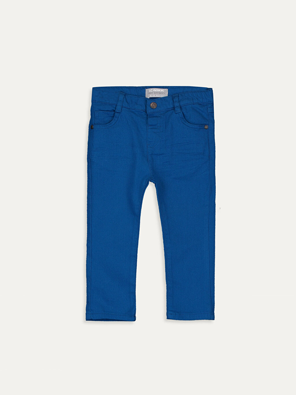 Mavi Erkek Bebek Slim Fıt Gabardin Pantolon 9W1359Z1 LC Waikiki
