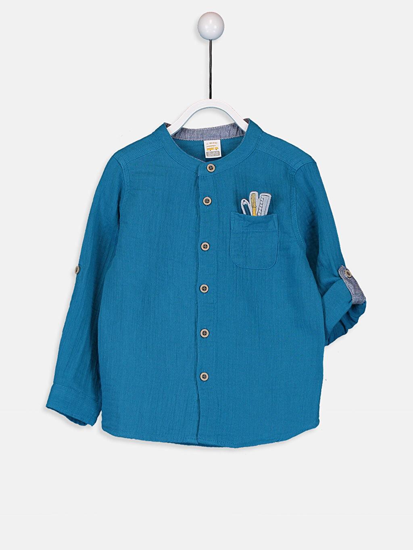 Mavi Erkek Bebek Gömlek 9W1552Z1 LC Waikiki