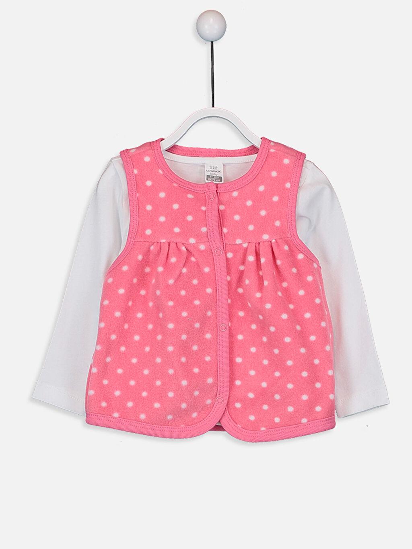 %100 Pamuk Standart Pijamalar Kız Bebek Takım 3'lü