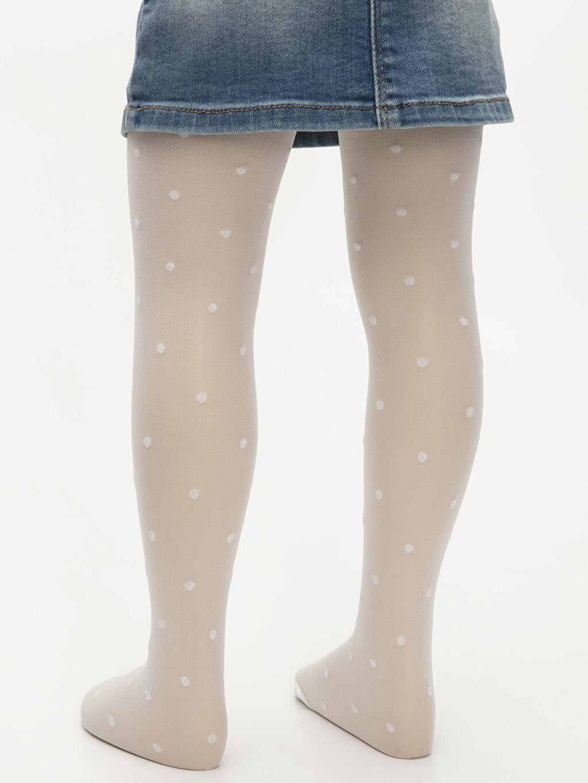 Çok Renkli Kız Bebek Külotlu Çorap 2'li