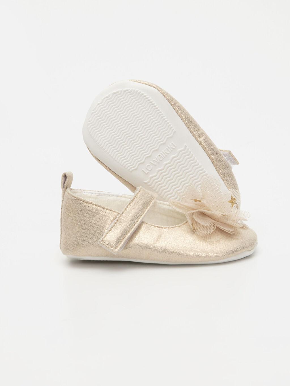Kız Bebek Cırt Cırtlı Ayakkabı ve Saç Bandı