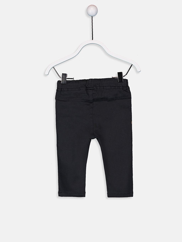 %96 Pamuk %4 Elastan  Erkek Bebek Pantolon