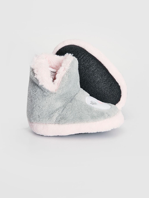 Kız Bebek Kız Bebek Polar Astarlı Panduf